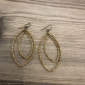 Stella & Dot Bardot Gold Drop Earrings